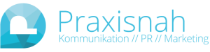 Logo Praxisnah - Kommunikation // PR // Marketing